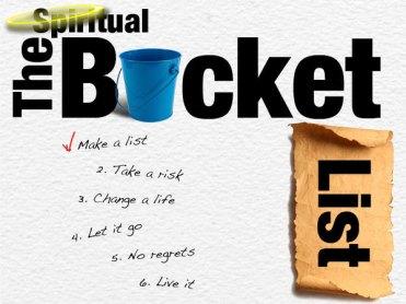 spirutal bucket list