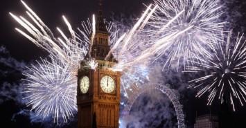 big ben fireworks