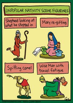 unpopular nativity fugures