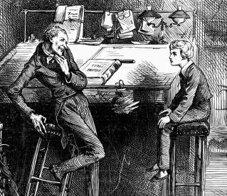 illustration-David-Copperfield-Uriah-Heep-Frederick-Barnard