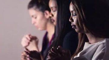 BAME women praying