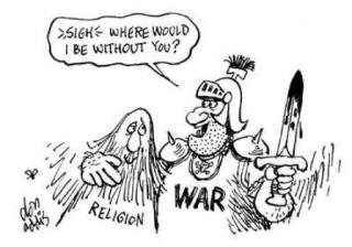 does-religion-cause-war