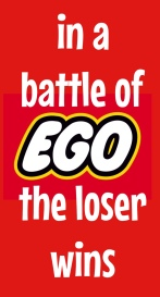 In a batte of ego