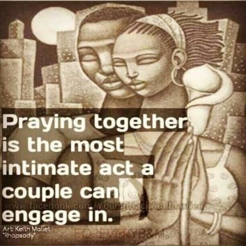 praying together intimate