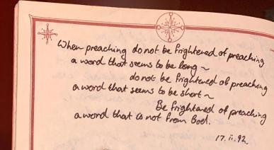 Preaching length