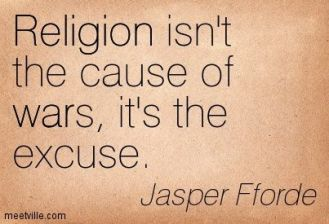 religion excuse for war