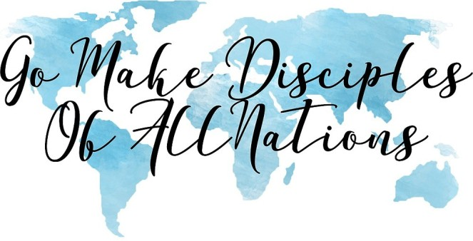 Go and make disciples map