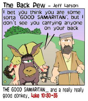good samaritan donkey