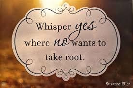 whisper yes
