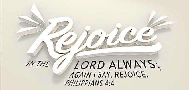 Philippians 4v4