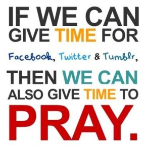 social media and prayer