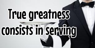 True Greatness Mark 10v45