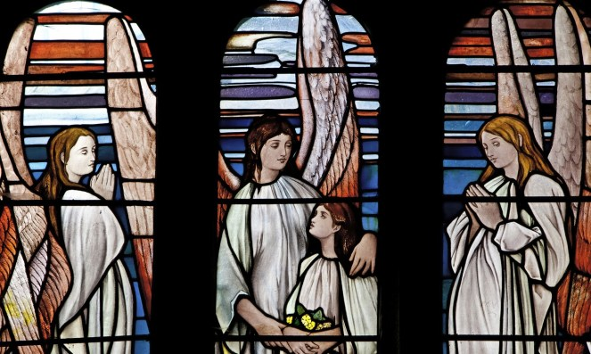 angels_on_church_stained_glass