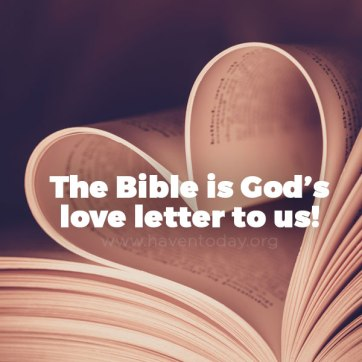bible god's love letter