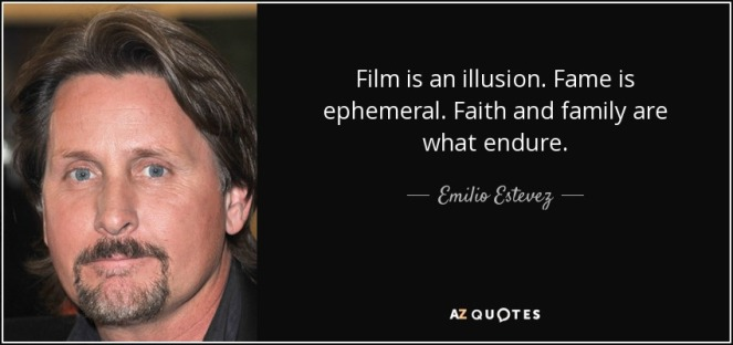 film is an illusion fame is ephemeral