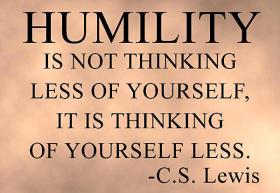 humility - Lewis