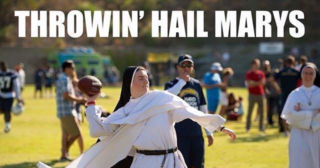 Nun Hail Mary