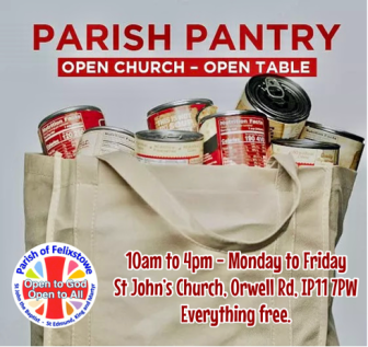 Parish Pantry advert
