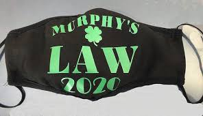 Murphy's Law face mask