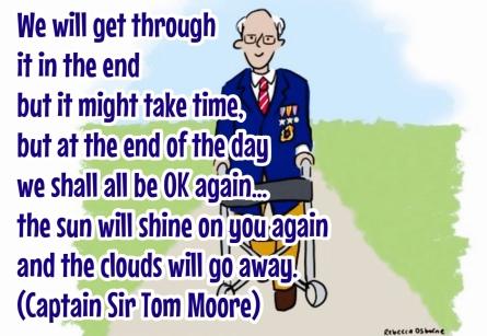 Captain Tom get through it
