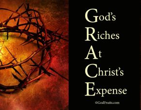 god's riches at Christ's expense