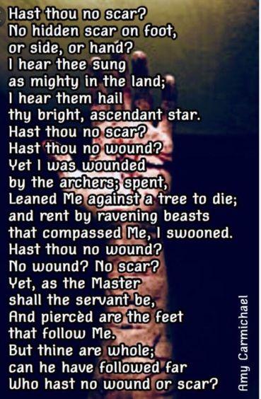 Hast Thou No Scar