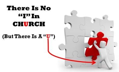 No I in Church