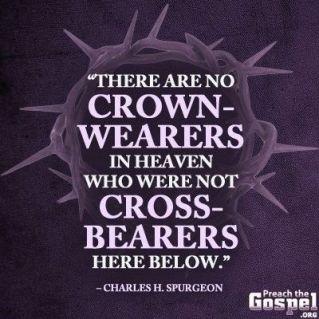 spurgeon no cross no crown
