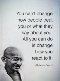 all you can change Gandhi