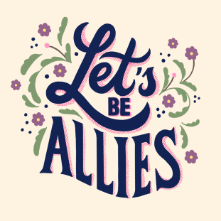 Let's+Be+Allies+Lettering+Challenge