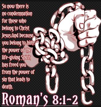 Romans 8v1-2