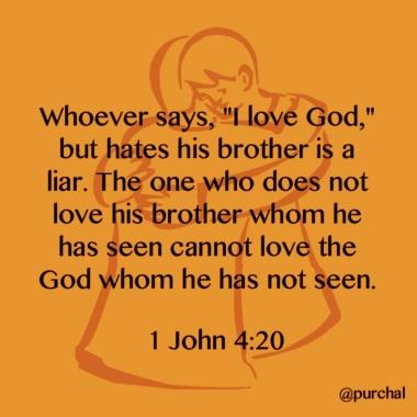 1 John 4v20