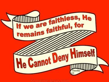 2 Timothy 2v13