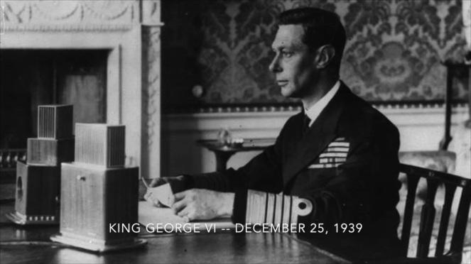 George VI Christmas 1939