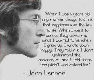 john-lennon be happy
