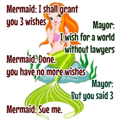 Mayor and Mermaid