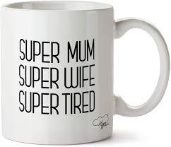 Super tired mug