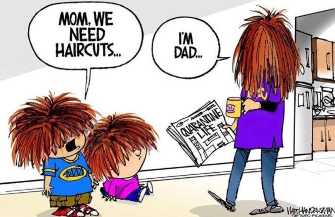 we need haircuts