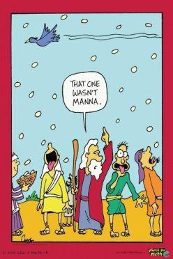 That wasn't Manna